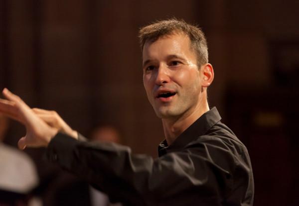 Tobias Koriath macht Kirchenmusik an der Thomaskirche. Foto: Rolf Oeser