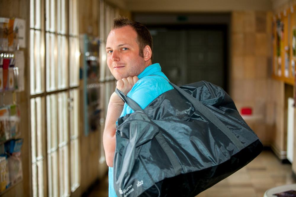 Trotz anstrengendem Job als Informatiker findet Markus Hauptmeier Zeit für sein Engagement in der Jugendarbeit. Foto: Ilona Surrey