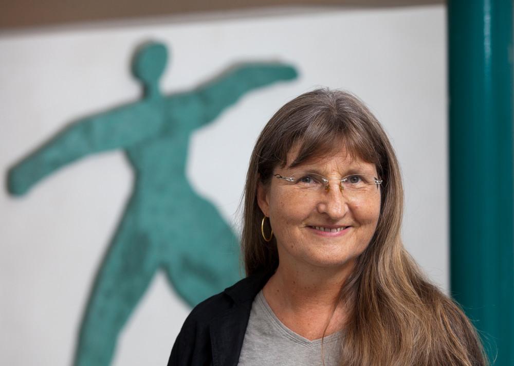 Angelika Förg ist Referentin im Evangelischen Frauenbegegnungszentrum. Foto: Rolf Oeser