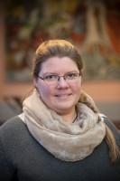 Anne Delpopolo ist Pfarrerin in der Gemeinde Frieden und Versöhnung im Gallus und Seelsorgerin am Klinikum Frankfurt-Höchst. Foto: Ilona Surrey