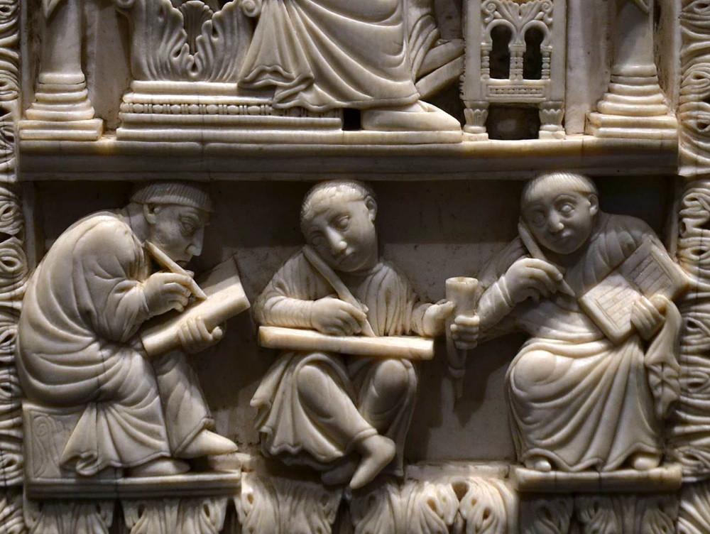 Buchdeckel aus dem 10. Jahrhundert. Foto: Kunsthistorisches Museum Wien